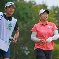 明日もリラックスでラウンドしたいね。 2021年 日本女子プロゴルフ選手権大会コニカミノルタ杯 3日目 西郷真央