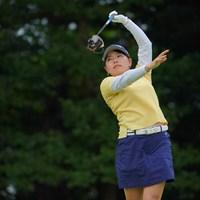 前半は別人でしたね。でも後半はよく巻き返しました。 2021年 日本女子プロゴルフ選手権大会コニカミノルタ杯 3日目 勝みなみ