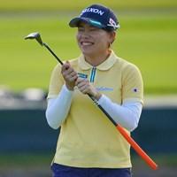 ホールアウト後の表情。悔しい!!喜怒哀楽を出してくれる選手は撮ってて楽しいですね。 2021年 日本女子プロゴルフ選手権大会コニカミノルタ杯 3日目 勝みなみ
