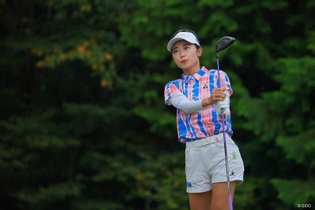 2021年 日本女子プロゴルフ選手権大会コニカミノルタ杯 3日目 安田祐香 なかなかチャンスに付けられず。最終18番のバーディは明日に繋がるはずです。