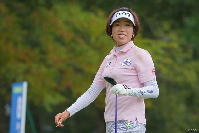 2021年 日本女子プロゴルフ選手権大会コニカミノルタ杯 3日目 大山志保 大山志保は「夢のまた夢」を現実のものとするか?