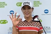 2021年 日本女子プロゴルフ選手権大会コニカミノルタ杯  最終日 ユン・チェヨン