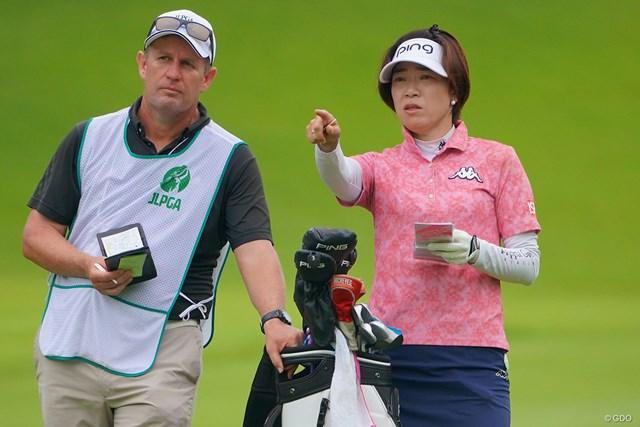 2021年 日本女子プロゴルフ選手権大会コニカミノルタ杯 事前 大山志保 まだまだ戦える。44歳の元賞金女王・大山志保が堂々の優勝争い