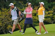 2021年 日本女子プロゴルフ選手権大会コニカミノルタ杯 最終日 大山志保 稲見萌寧