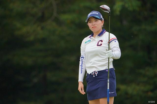 2021年 日本女子プロゴルフ選手権大会コニカミノルタ杯 最終日 勝みなみ 初日が終わった時には、みなみちゃんの完全優勝もあるかなって思ってたんですけどね。単独5位フィニッシュ。