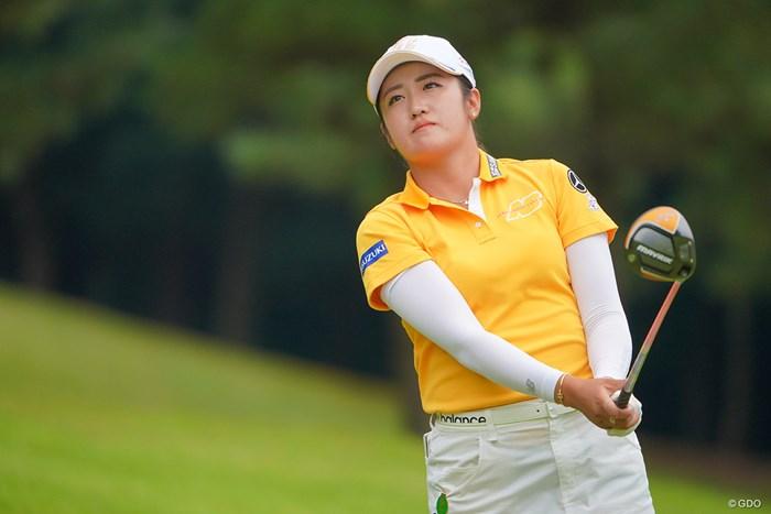 フェアウェイヒット率たるや。 2021年 日本女子プロゴルフ選手権大会コニカミノルタ杯 最終日 稲見萌寧