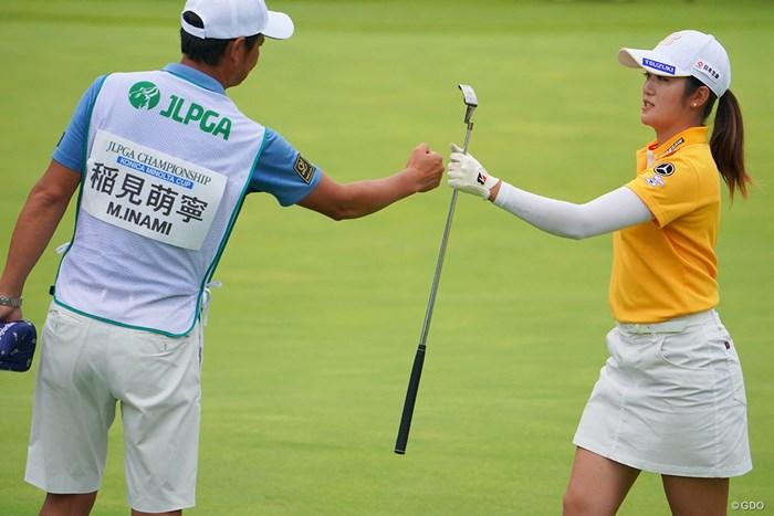 16番、とどめのバーディ! 2021年 日本女子プロゴルフ選手権大会コニカミノルタ杯 最終日 稲見萌寧