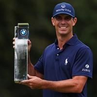 逆転でツアー2勝目をあげたビリー・ホーシェル(Richard Heathcote/Getty Images) 2021年 BMW PGA選手権 最終日 ビリー・ホーシェル