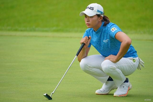 2021年 日本女子プロゴルフ選手権大会コニカミノルタ杯 最終日 渋野日向子 最終日は「パットで台無しに…」と悔しがった