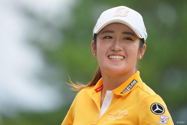 2021年 日本女子プロゴルフ選手権大会コニカミノルタ杯 最終日 稲見萌寧 稲見萌寧が自身初の世界トップ20入り