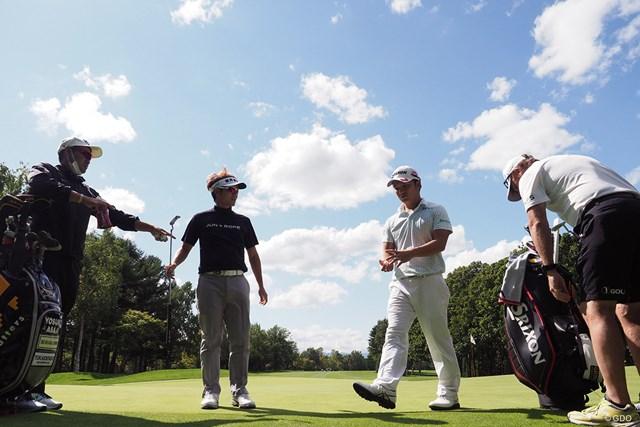 2021年 ANAオープンゴルフトーナメント 事前 浅地洋佑 練習ラウンドは香妻陣一朗と共にプレー