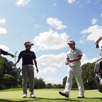 練習ラウンドは香妻陣一朗と共にプレー 2021年 ANAオープンゴルフトーナメント 事前 浅地洋佑