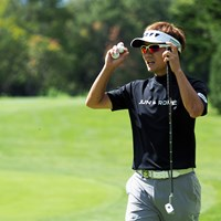 2年ぶりの優勝を目指す 2021年 ANAオープンゴルフトーナメント 事前 浅地洋佑