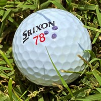 松山英樹が使用するボール。「78」には思い入れが 2022年 フォーティネット選手権 事前 松山英樹のボール