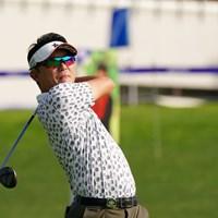 戦う監督、阿部裕樹 2021年 ANAオープンゴルフトーナメント 初日 阿部裕樹
