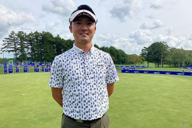 2021年 ANAオープンゴルフトーナメント 初日 阿部裕樹 サングラスの下は優しい笑顔