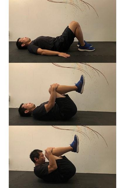 ストレッチ 腹筋の運動にもなります