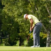 決まるかな 2021年 ANAオープンゴルフトーナメント 初日 出水田大二郎