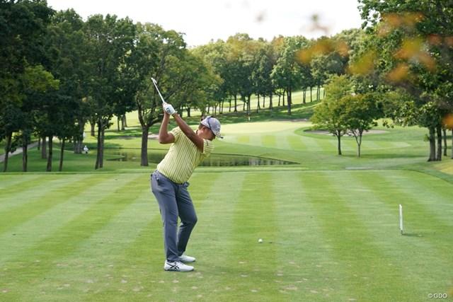 2021年 ANAオープンゴルフトーナメント 初日 出水田大二郎 バックショットやで