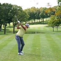 バックショットやで 2021年 ANAオープンゴルフトーナメント 初日 出水田大二郎