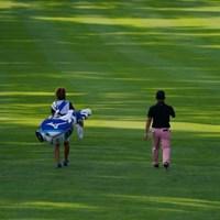 朝の光線はきれいだったけど 2021年 ANAオープンゴルフトーナメント 初日 時松隆光