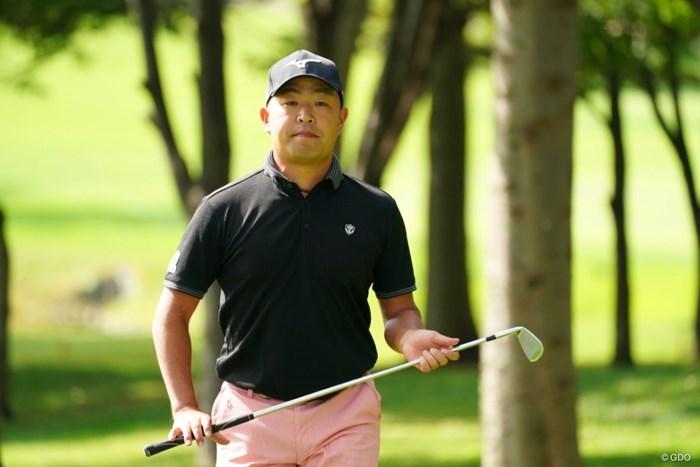 選手会長、応援してまっせ 2021年 ANAオープンゴルフトーナメント 初日 時松隆光