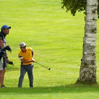 脱出成功 2021年 ANAオープンゴルフトーナメント 初日 香妻陣一朗