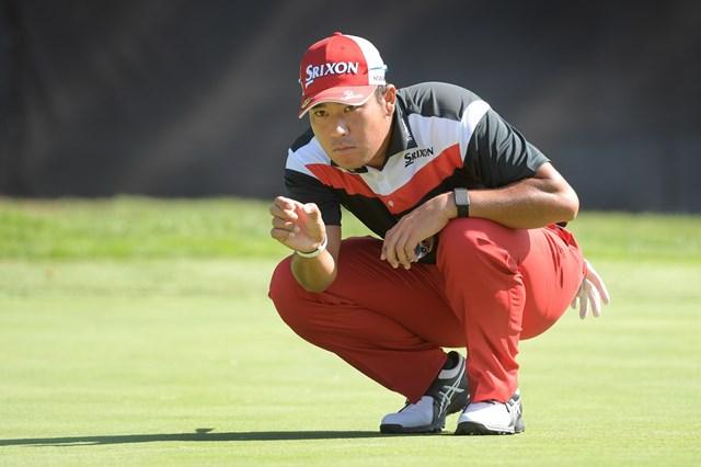 2022年 フォーティネット選手権 初日 松山英樹 松山英樹が新シーズンを始動。首位と4打差で発進した(Stan Badz/PGA TOUR)