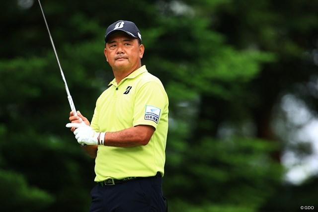 2021年 寺西明 初めての賞金王に輝いた寺西明(写真は2021年日本プロゴルフ選手権)