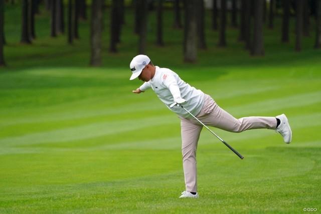 2021年 ANAオープンゴルフトーナメント 2日目 中西直人 ジャンボジェットならぬ中西ジェット