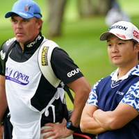 キャディのジェイソンと、ここまでは良かったのにな~ 2021年 ANAオープンゴルフトーナメント 2日目 香妻陣一朗