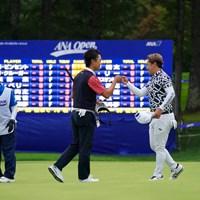 ともに8アンダーフィニッシュ 2021年 ANAオープンゴルフトーナメント 2日目 阿部裕樹 植竹勇太