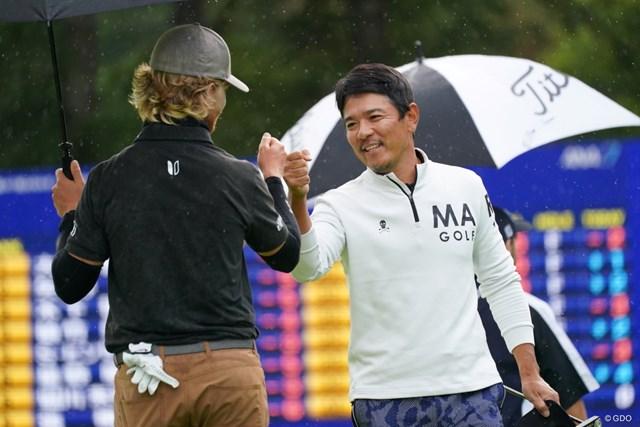 2021年 ANAオープンゴルフトーナメント 3日目 矢野東 矢野東(右)は復活Vなるか。44歳ベテランが首位と2打差で最終日へ
