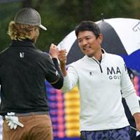 矢野東(右)は復活Vなるか。44歳ベテランが首位と2打差で最終日へ 2021年 ANAオープンゴルフトーナメント 3日目 矢野東