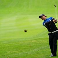18番グリーンへアタックチャンス 2021年 ANAオープンゴルフトーナメント 3日目 石川遼