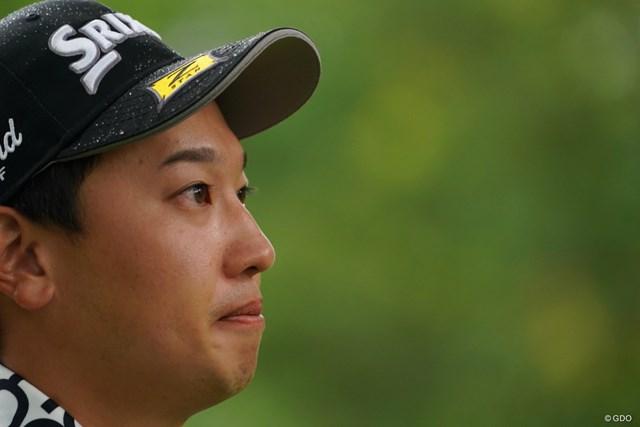2021年 ANAオープンゴルフトーナメント 3日目 植竹勇太 横顔