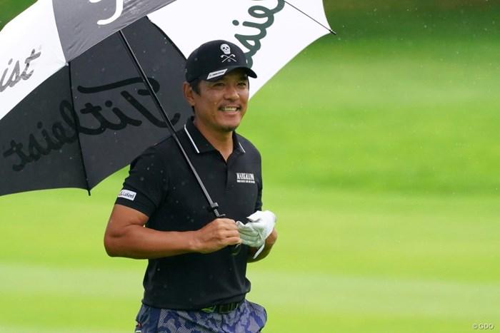 はちきれんばかりの笑顔とは言わないが笑顔だよん 2021年 ANAオープンゴルフトーナメント 3日目 矢野東