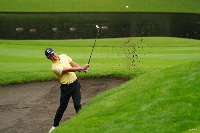 2021年 ANAオープンゴルフトーナメント 3日目 木下稜介 ナイスバンカーショットじゃね