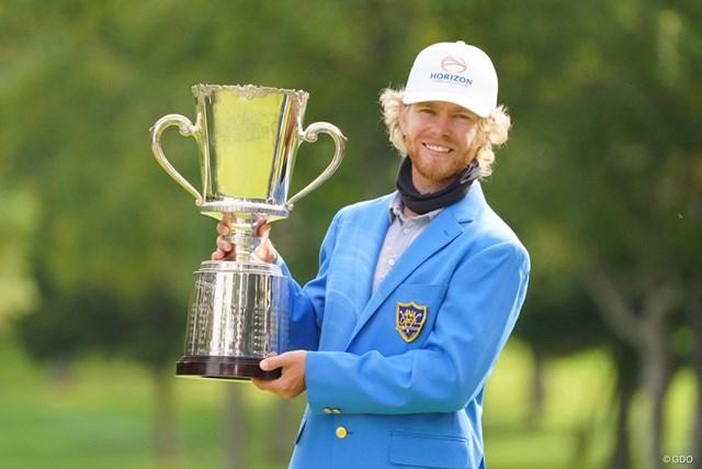 2021年 ANAオープンゴルフトーナメント 最終日 スコット・ビンセント ツアー2勝目をあげたスコット・ビンセント