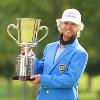 ツアー2勝目をあげたスコット・ビンセント 2021年 ANAオープンゴルフトーナメント 最終日 スコット・ビンセント
