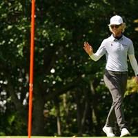お見事、9番イーグル 2021年 ANAオープンゴルフトーナメント 最終日 スコット・ビンセント