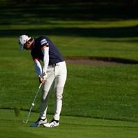 インパクト付近 2021年 ANAオープンゴルフトーナメント 最終日 片岡尚之