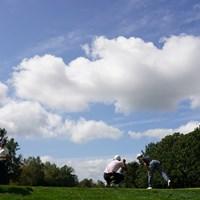 よかった青空が出て 2021年 ANAオープンゴルフトーナメント 最終日 石川遼 金谷拓実 ショーン・ノリス