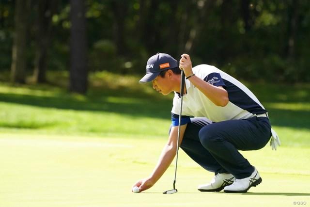 2021年 ANAオープンゴルフトーナメント 最終日 星野陸也 セットアップ