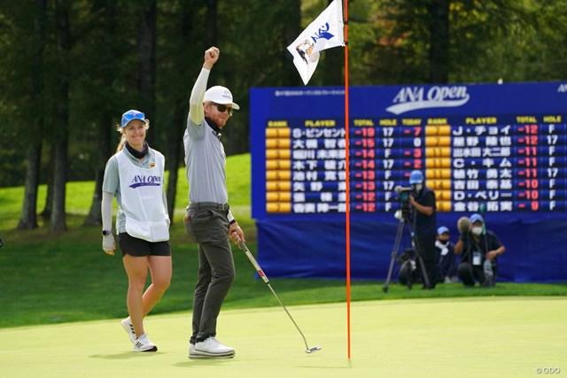 2021年 ANAオープンゴルフトーナメント 最終日 スコット・ビンセント 初優勝からわずか2戦でつかんだ2勝目