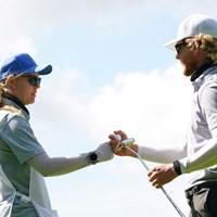 妻との二人三脚で勝利をつかんだ 2021年 ANAオープンゴルフトーナメント 最終日 スコット・ビンセント