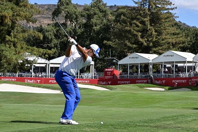 2022年 フォーティネット選手権  最終日 松山英樹 松山英樹は最終日の終盤に巻き返して6位フィニッシュ(Stan Badz/PGA TOUR)