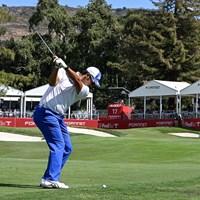 松山英樹は最終日の終盤に巻き返して6位フィニッシュ(Stan Badz/PGA TOUR) 2022年 フォーティネット選手権  最終日 松山英樹
