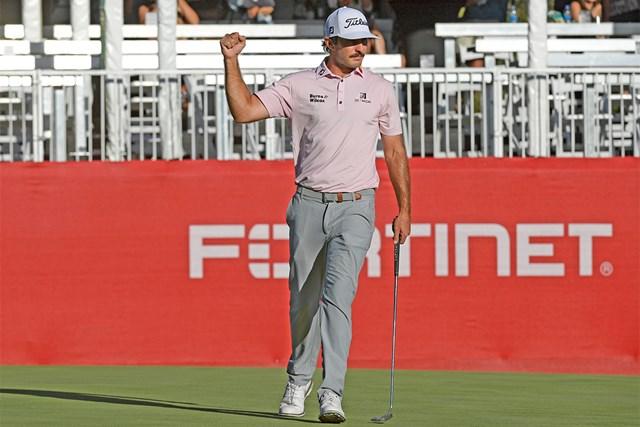 2022年 フォーティネット選手権  最終日 マックス・ホマ 新シーズン初戦を制したマックス・ホマ(Stan Badz/PGA TOUR)