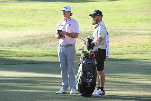 2022年 フォーティネット選手権  最終日 マックス・ホマ 長年の相棒がホマの優勝を陰で支えた(Stan Badz/PGA TOUR)